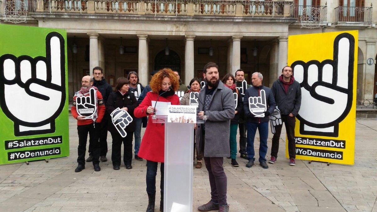 """La  red  ciudadana  Sare  llama  a  participar  en  el  """"Día  de  la  Denuncia""""  del  17  de  diciembre"""