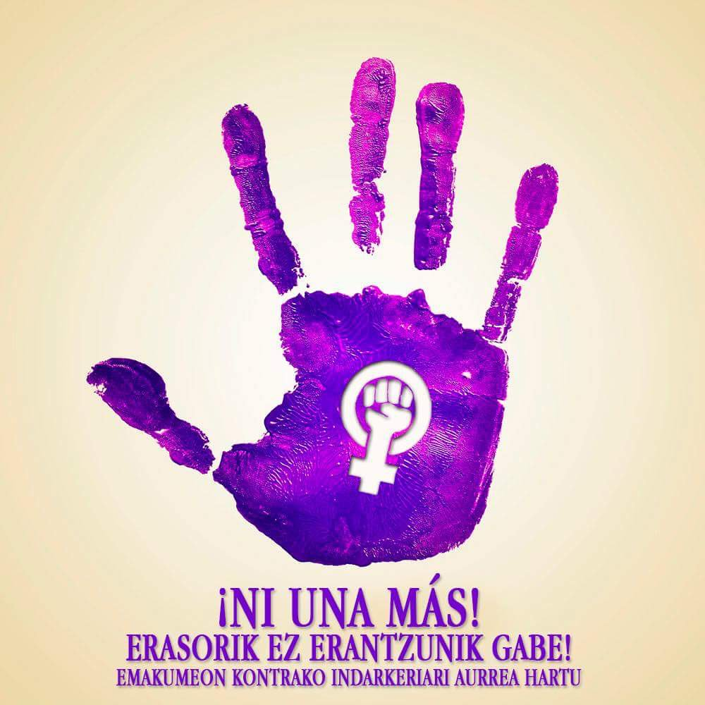 Eraso matxista ezberdinen berri izan du Txagorritxuko Tirrintzi talde feministak