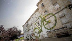 2016-07-20, Vitoria-Gasteiz. Errekaleor muralei buruzko erreportaia. 20-047-2016, Vitoria-Gasteiz. Reportaje sobre los murales de Errekaleor.