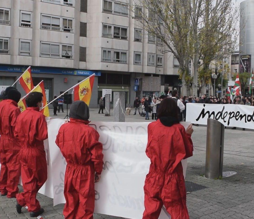 Espainiako Konstituzioaren egunean independentzia aldarrikatu du Ezker Abertzaleak