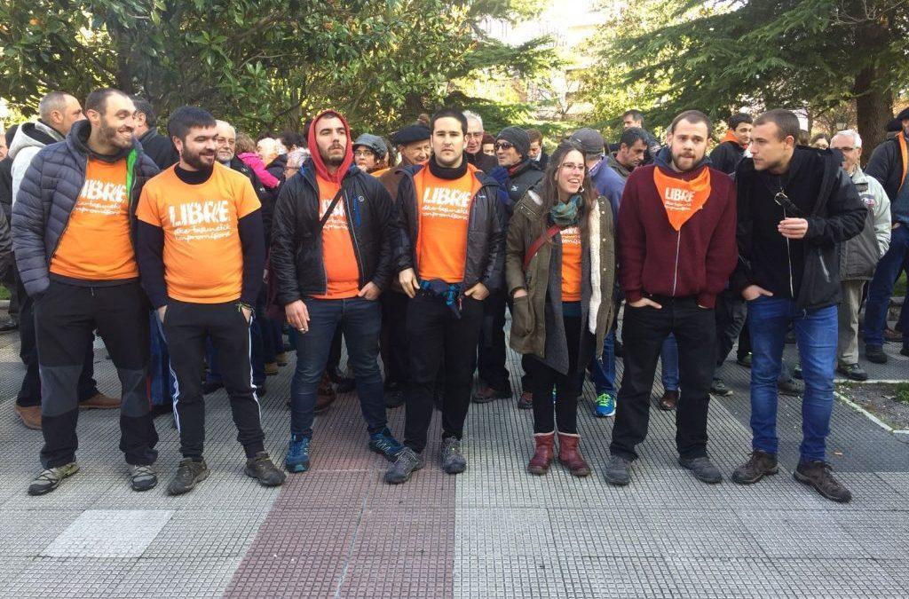 Gasteizko  Harresiagatik  epaitzera  deituta  zeuden  8  gazteen  aurkako  epaiketa,  sententziaren  zain