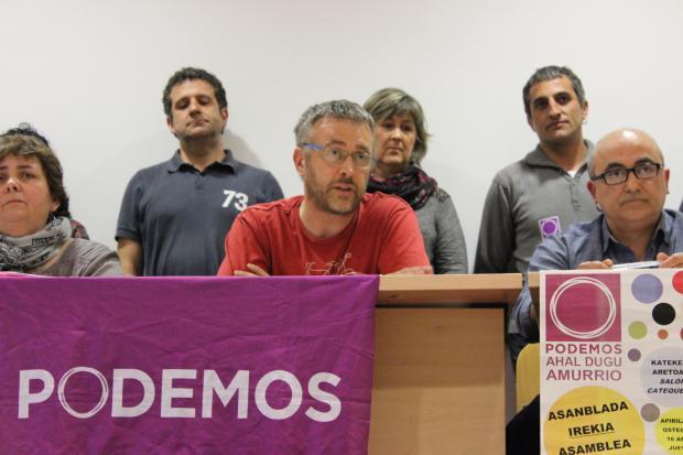 """Dani Trujillano (Podemos): """"Aurrekontuen erabakia batzarkideok hartu behar dugu, ez zuzendaritzak"""""""