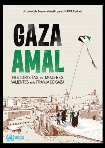 Gaza Amal. Historietas de las mujeres valientes de Gaza en formato de cómic.