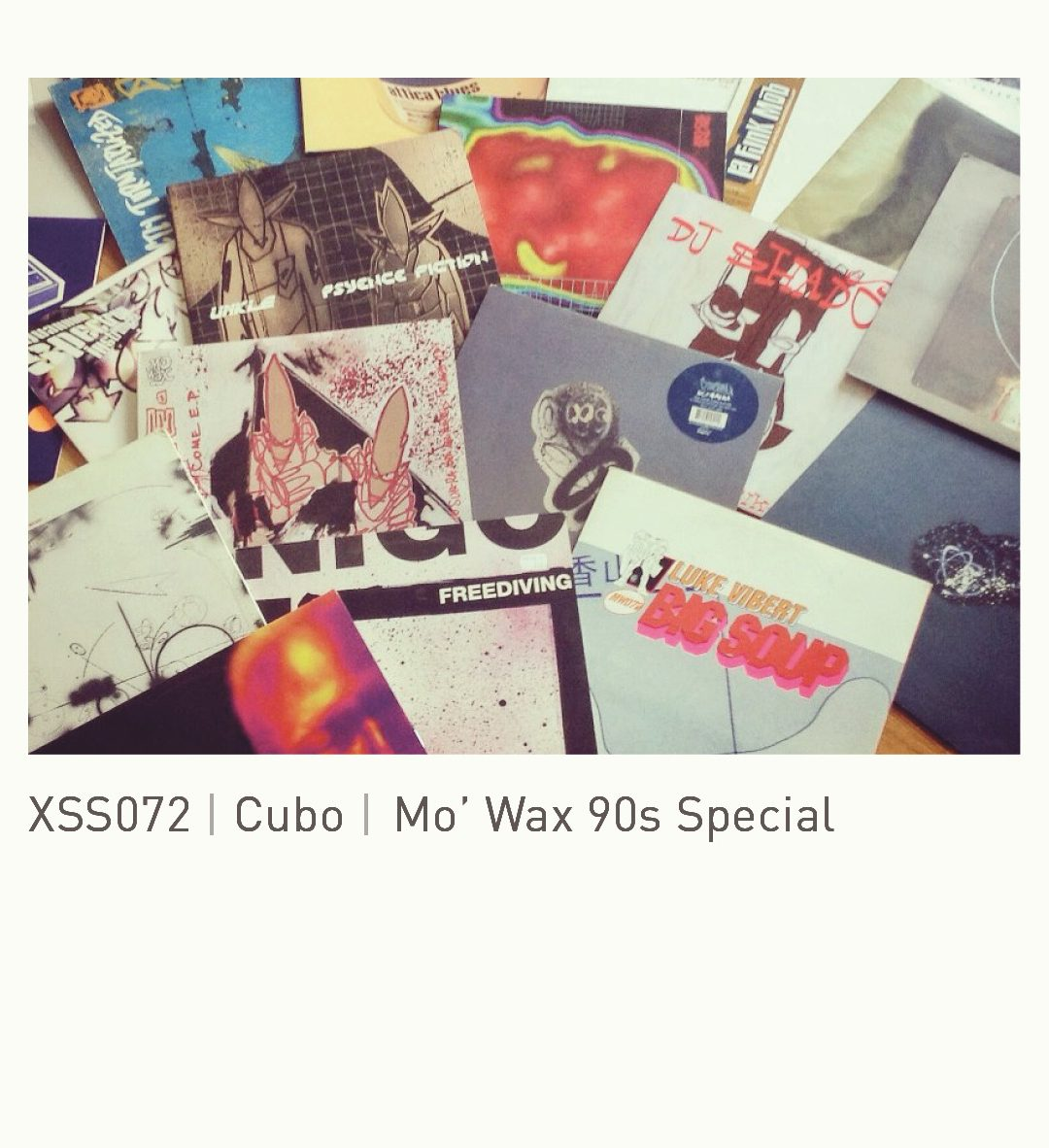 XSS072 | Cubo | Mo' Wax 90s Special