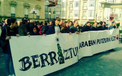 """Estitxu  Villamor  (Berriztu  Araba):  """"Herri  mobilizazioa  bultzatuz,  instituzioak  posizionatzea  espero  dugu"""""""