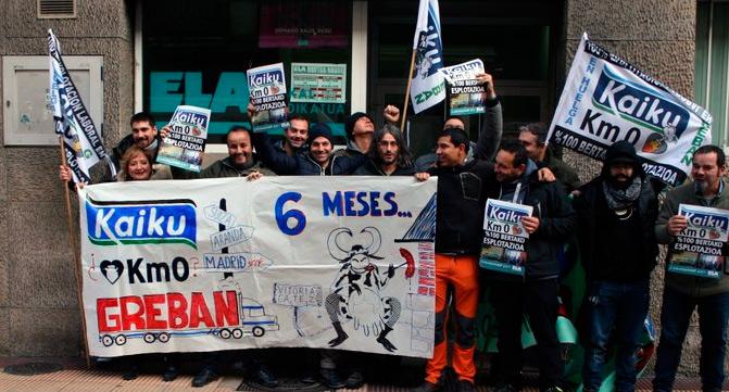 Tras  seis  meses  de  huelga  los  trabajadores  de  KAIKU  llegan  a  un  acuerdo  con  la  empresa