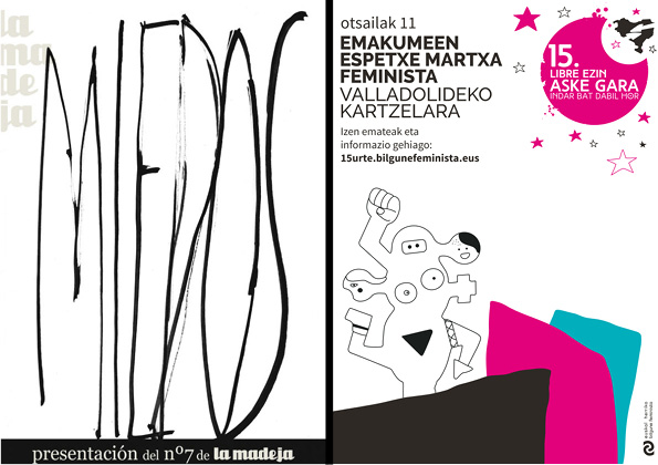 """""""… O no será"""": Presentación de la revista La Madeja y de la actividad  'Espetxe Martxa'"""