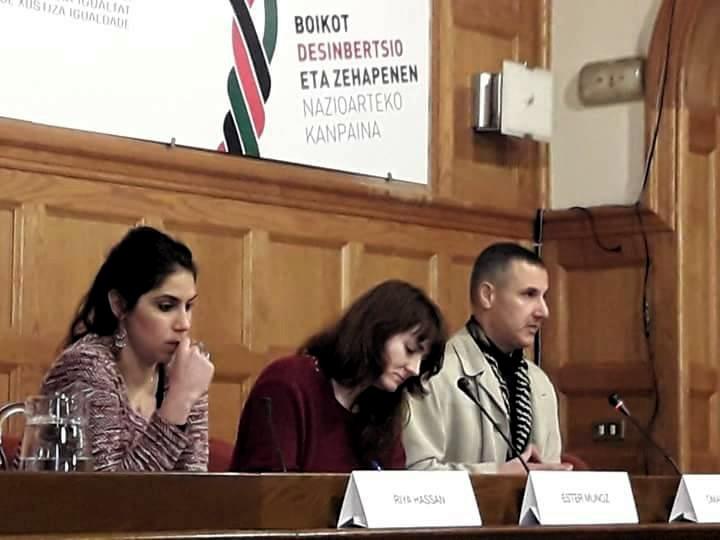 El Foro BDS de Donostia pide a las instituciones valentía a la hora de defender los Derechos Humanos en Palestina.