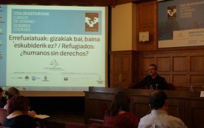 """Juan  Hernández  (OMAL):""""La  tendencia  es  la  quiebra  del  derecho  internacional,  de  los  derechos  humanos"""""""