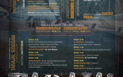 """Tarajal Gogoan"", este sábado 11 en el Gaztetxe de Gasteiz"