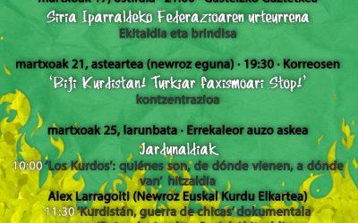 """Kurdistanekin elkartasun astea, """"Newroz""""en kontestuan"""