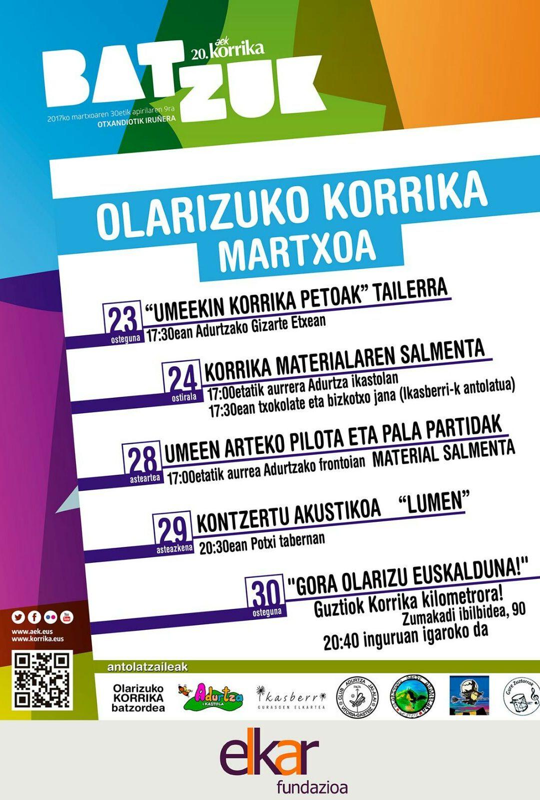 """Haizea Garcia: """"'Gora Olarizu euskalduna' lelopean batuko gara Korrikara"""""""