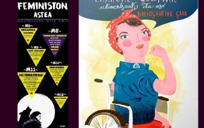 """""""O no será"""": Diversidad funcional desde el feminismo y Martxoak 8"""