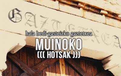 Bueltan  da  MUINOKO  HOTSAK  |  Martxoaren  24an,  Vicepresidentes  &  Eraso!  izango  dira  Gasteizko  Gaztetxean