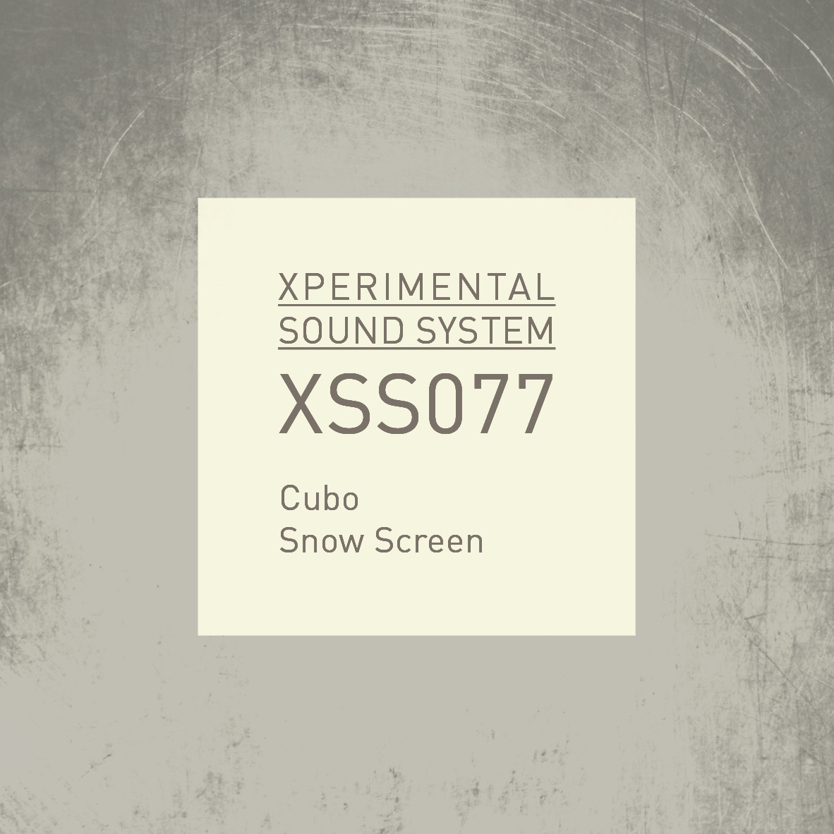 XSS077 | Cubo | Snow Screen