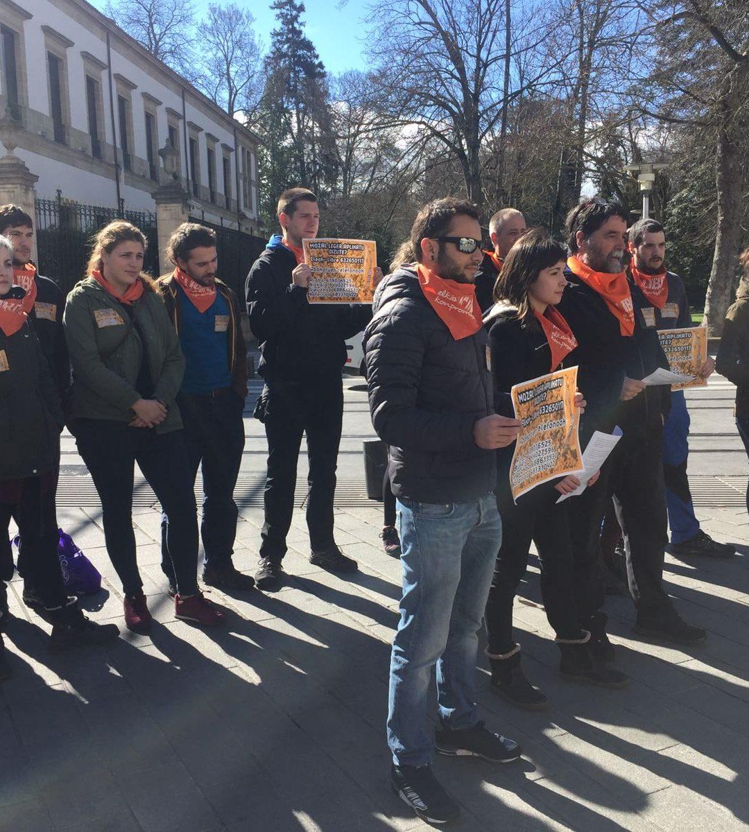 ELEAK pone en marcha un servicio jurídico para atender a las víctimas de la Ley Mordaza