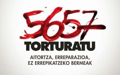 """Sandra Barrenetxea (torturada): """"El reconocimiento necesita de iniciativas ciudadanas, pero también de leyes para que se de la reparación""""."""