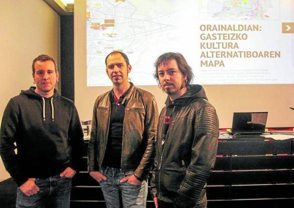 Iñaki Landa eta Gindi Auzmendi ('Orainaldian'): «Gasteizko kultura bizi-bizirik dago, egiten utzi behar zaio»