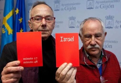 El  pueblo  de  Xixon  le  saca  la  tarjeta  roja  a  Israel  Entrevista  a  Ángel    alonso