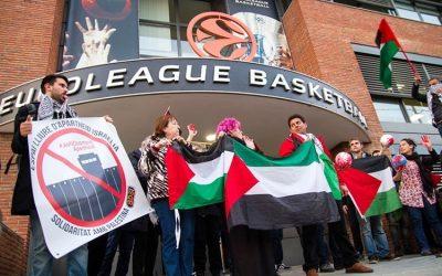 Uhintifada 288: «Maccabi es una pieza fundamental del engranaje de lavado de imagen del sistema de apartheid israeli ante la opinión pública internacional».