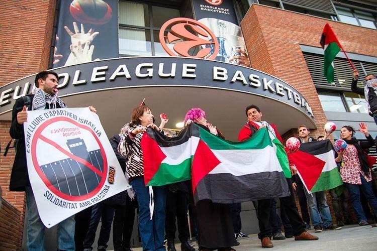 «Maccabi es una pieza fundamental del engranaje de lavado de imagen del sistema de apartheid israeli ante la opinión pública internacional».