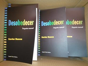 """Se  presenta  en  Gasteiz  la  edición  en  castellano  de  """"Desobedecer,  pequeño  manual"""""""