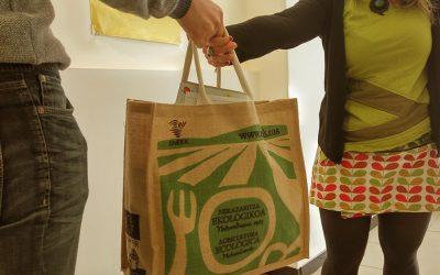 Cada mes, sortearemos una cesta entre todas las halabelarris, en colaboración con BioNekazaritza