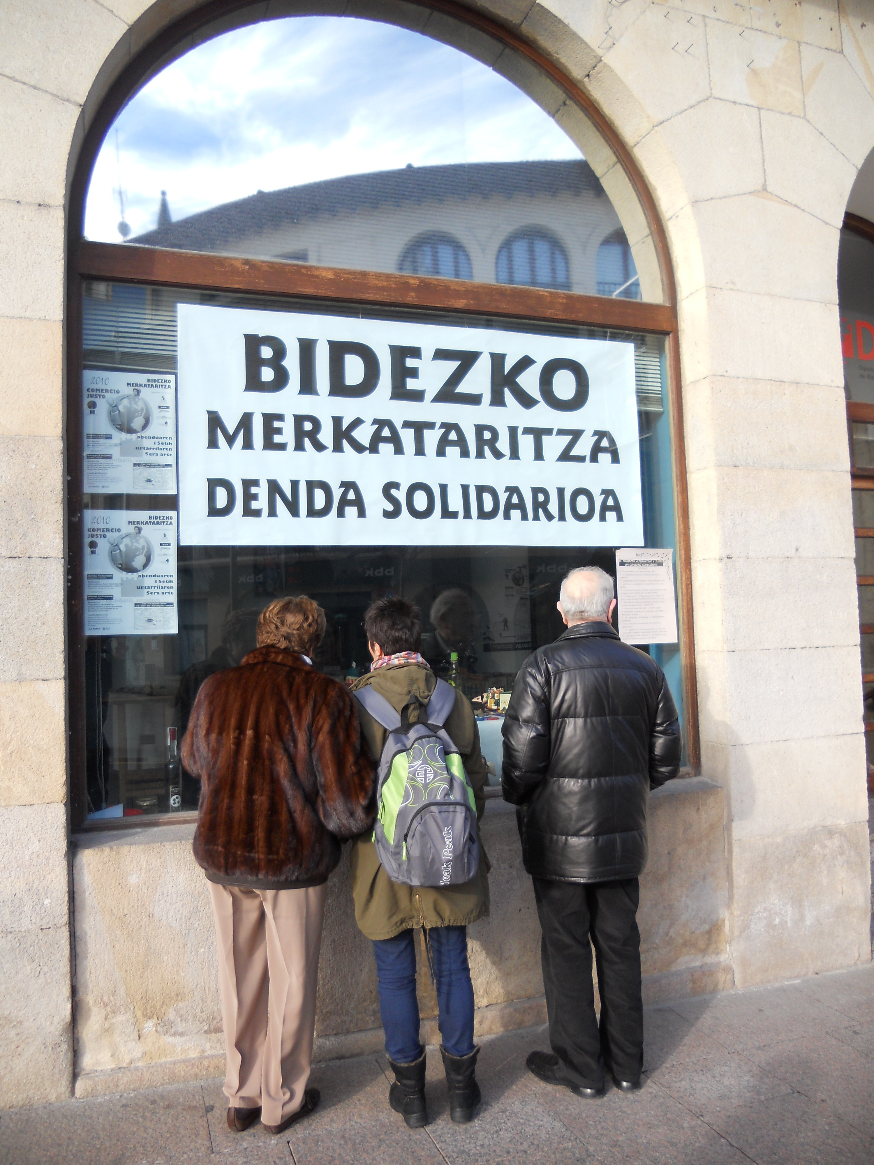 """Ainhoa  Bilbao  (Setem  Hego  Haizea):  """"Bidezko  merkataritza  benetako  alternatiba  bat  da""""."""
