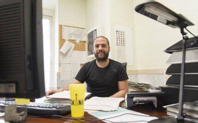 """Aitor Miguel (EHBildu): """"FCCk ez du izaera garbirik; etekin ekonomikoak nahi ditu, Gasteizko hiriaren gainetik"""""""