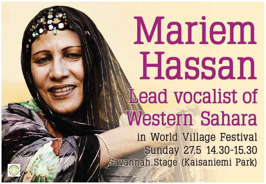 """""""La voz indómita"""", homenaje en libro-disco–DVD a la cantautora y luchadora saharaui Mariem Hassan"""