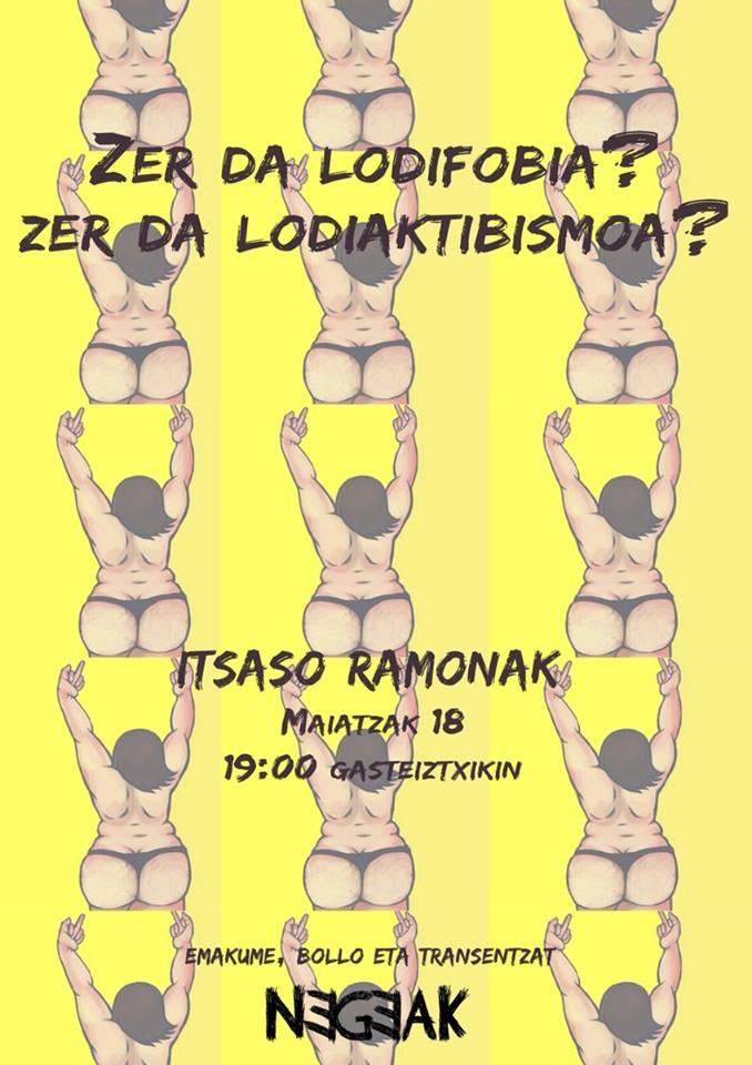 """Itsaso Ramonak (Lodiaktibista): """"Lodiaktibismoa loditasunari esanahi berri bat ematea da"""""""
