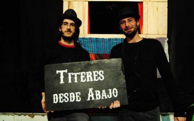 """Títeres desde abajo vuelve a la carga con la obra """"La bruja y Don Cristóbal"""""""