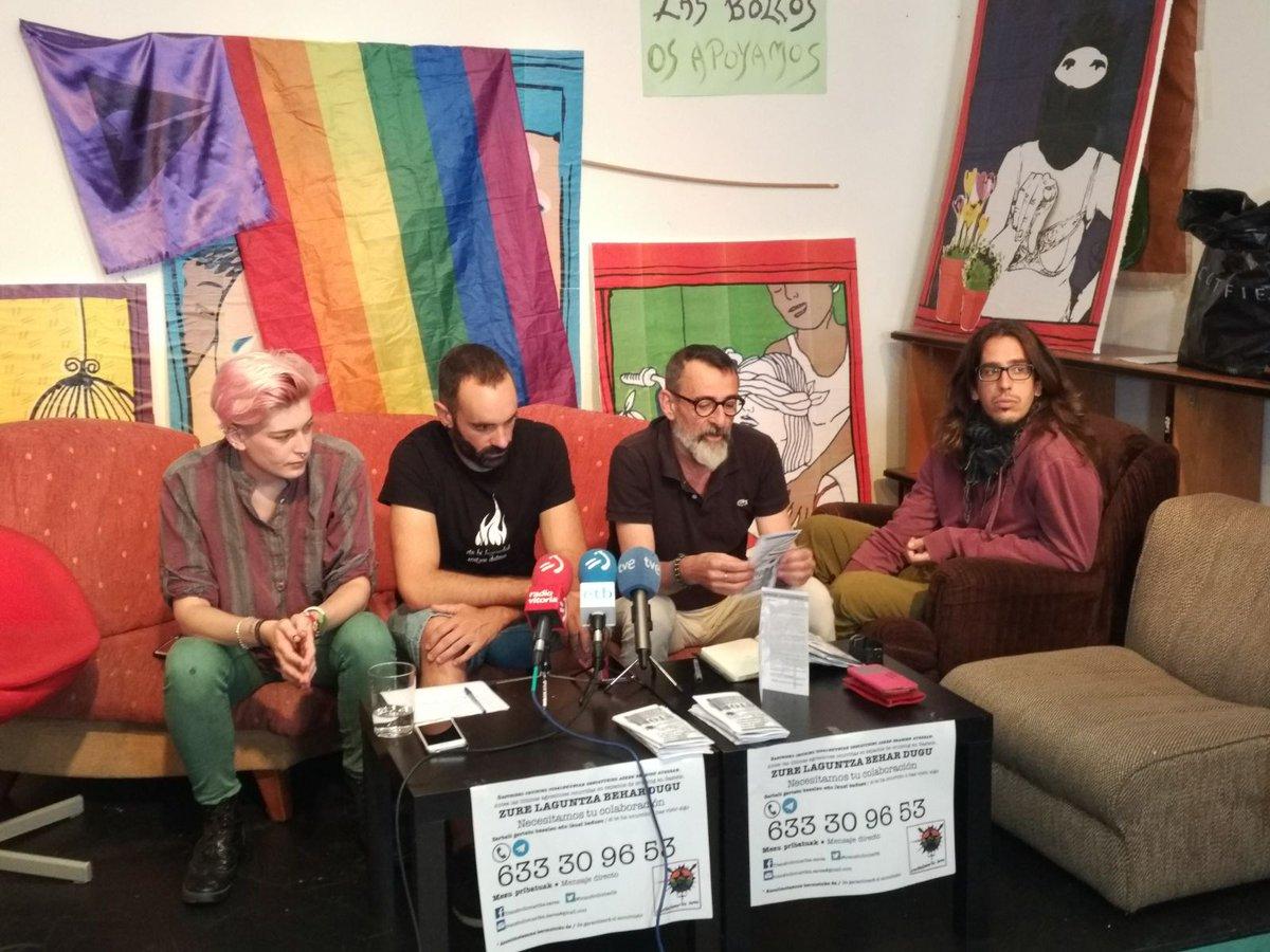 Eraso  homofobo,  transfobo  eta  lesbofoboen  aurkako  protokoloa  aurkeztu  du  TransBolloMarika  Sareak