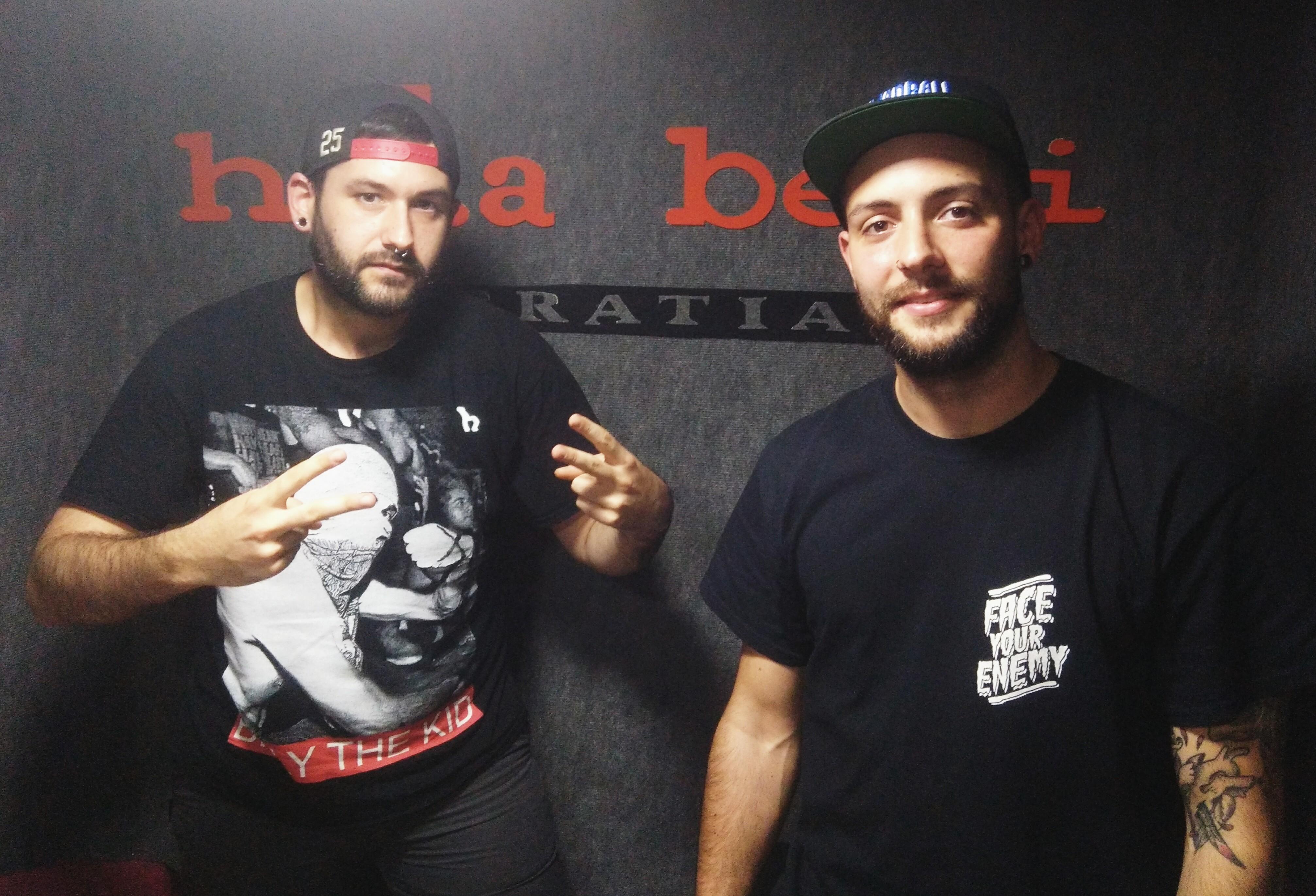 """Javi  y  Mangui  (FEARS  AWAY):  """"Vemos  la  escena  hardcore  en  Euskal  Herria  más  fuerte  que  nunca"""""""
