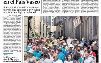 """El País-New York Times""-Kepa Gordejuela-"