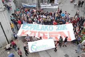 """Manu (Garden Guraso Elkartea): """"Lo que se buscaba era descabezar el movimiento juvenil en Tolosaldea"""""""