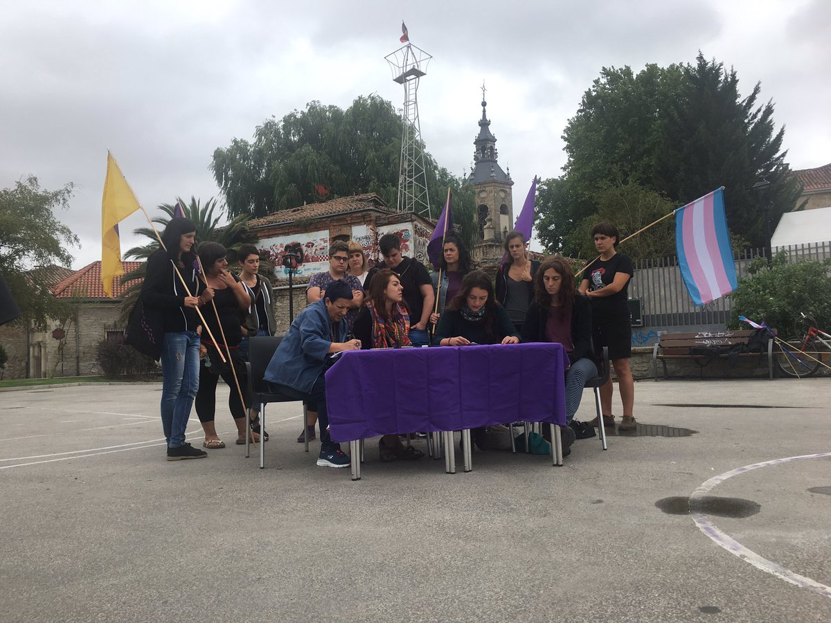Gasteizko  Mugimendu  Feministaren  eraso  sexisten  aurkako  protokoloa  6  urratsetan