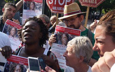 El Gobierno vasco vuelve a aplicar la ley mordaza en Araba, esta vez a Stop Desahucios