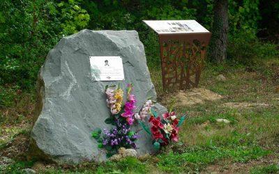 Memoriarekin hitzordua, La Tejerako bihurgunean, Añanan