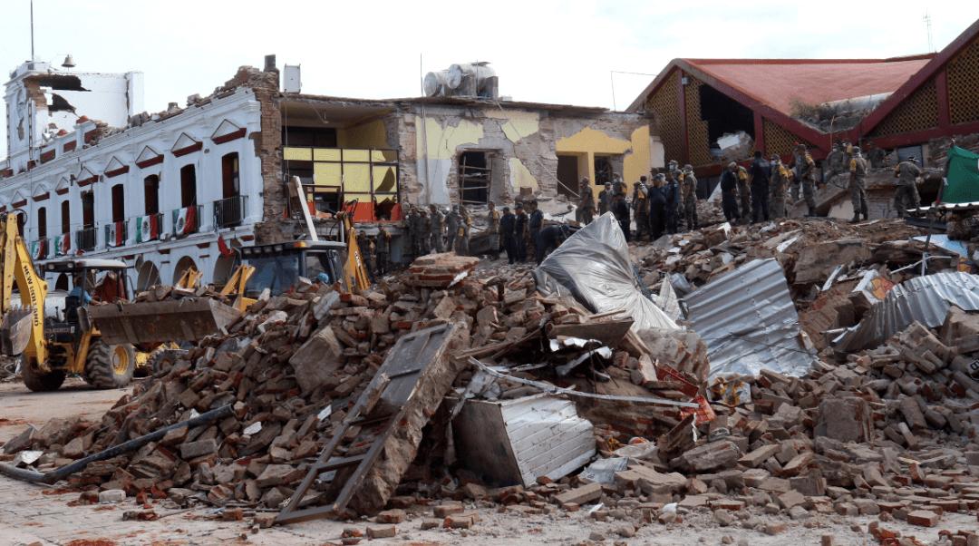 El gobierno mexicano deja en la estacada a las víctimas del terremoto de Oaxaca y Chiapas