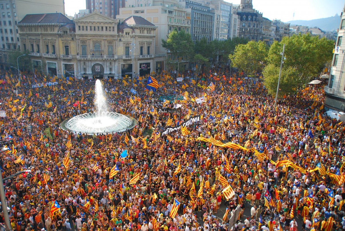 """""""Reflexiones sobre Cataluña""""-Amancay Villalba-"""