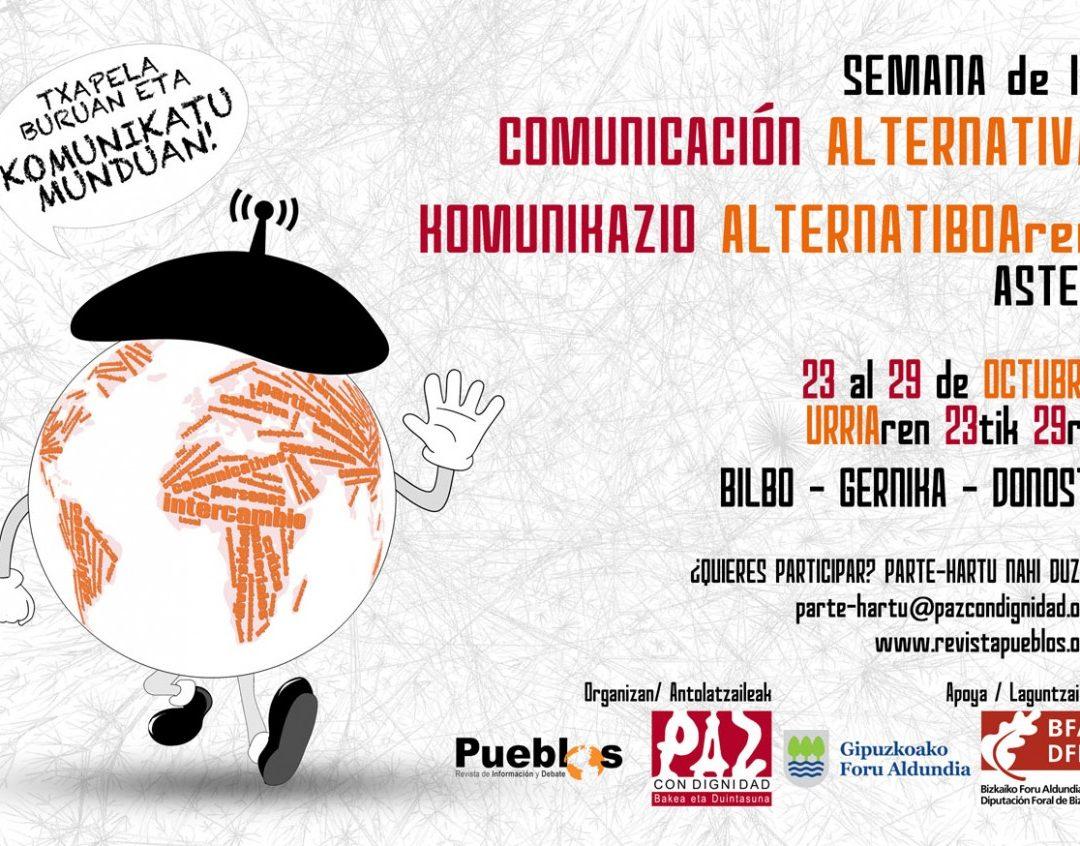 """Andrea Gago (Revista Pueblos): """"Hemos decidido abordar diferentes temas con el trasfondo de la comunicación"""""""