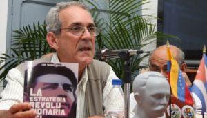 """Luís Suárez Salazar (Doctor Ciencias Sociales): """"Es usual ver el emblema del Che, verlo en las luchas que se desarrollan en las diferentes partes del mundo, como una inspiración, una bandera"""""""