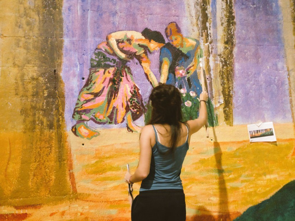 Emakumeak ardatz, Irantzu Lekuek Judimendin egin duen mural berrian
