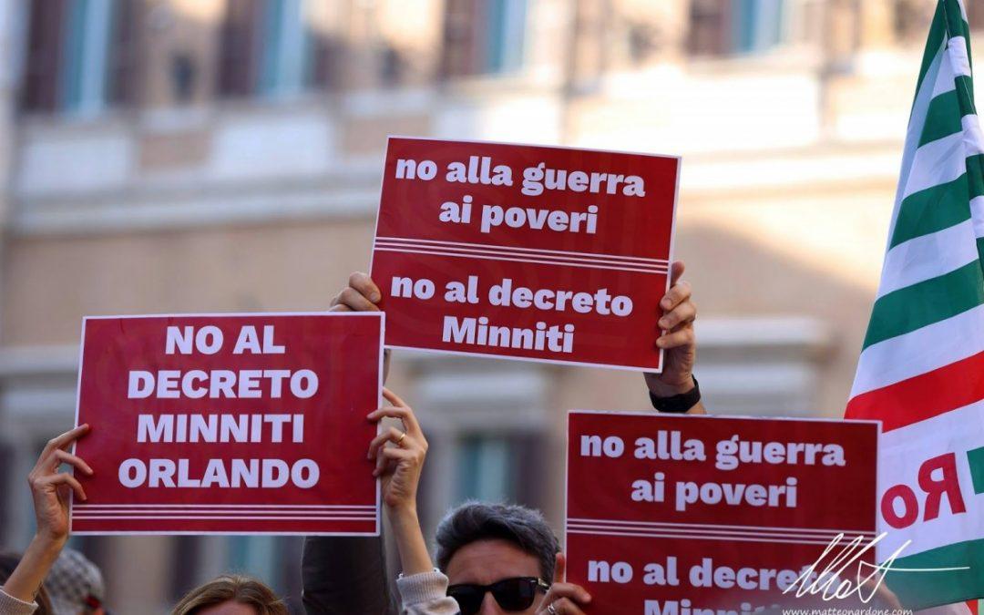 """Marco Santopadre: """"La gente se está acostumbrando a que no hay diferencia entre injusticia e ilegalidad. La legalidad es el fruto entre las relaciones de fuerza"""""""