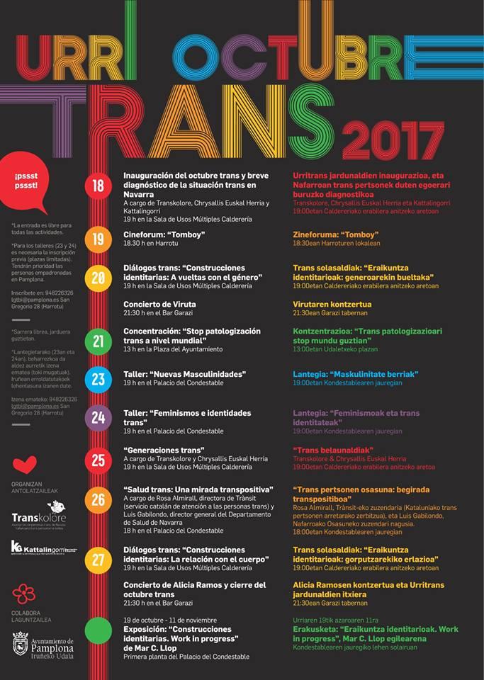 """Fermintxo (Transkolore): """"A medida que avanza la sociedad y el respeto se ve que el ratio de personas trans es mayor"""""""