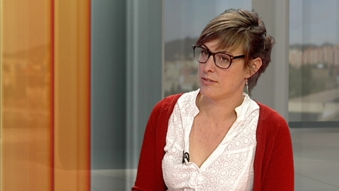 Mireia Vehí, diputada de las CUP, expondrá la actualidad catalana el miércoles en Gasteiz
