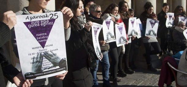 """Aitziber Romero (Coordinadora 25N): """"El objetivo de este 25N es poner encima de la mesa todas las violencias machistas"""""""