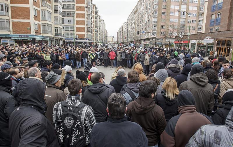 Último juicio contra 6 vecinos y vecinas del barrio de Gamonal por las protestas de 2014 contra el bulevar