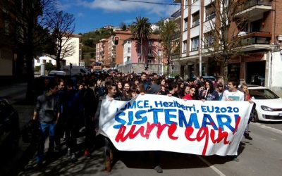 Ikasle egun feminista egingo dute larunbatean Laudion
